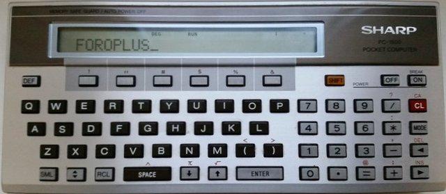 Primera calculadora programable
