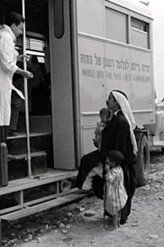 Inmunización antituberculosa en masa