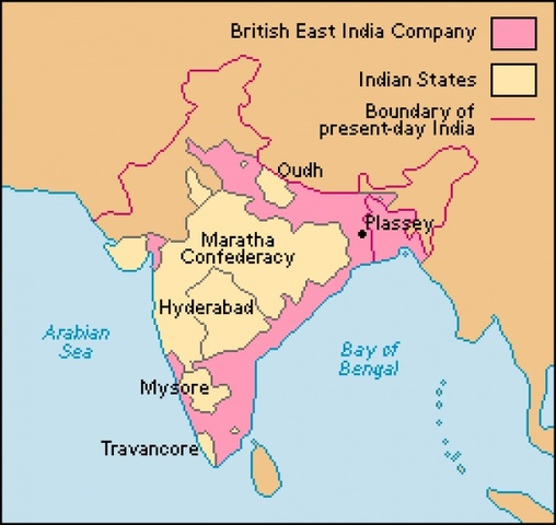 End of the East India Company's Asian Monopoly
