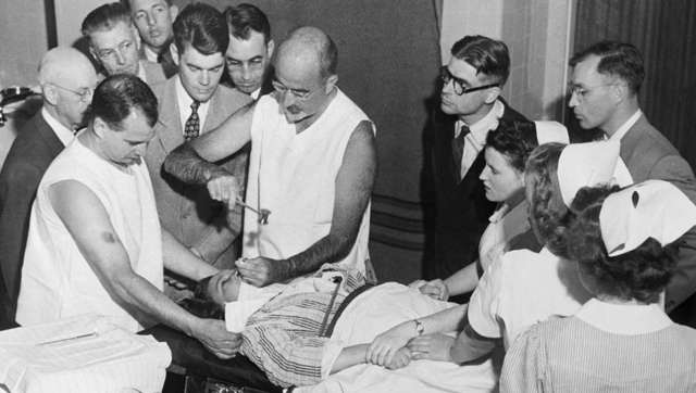 First lobotomy in the US