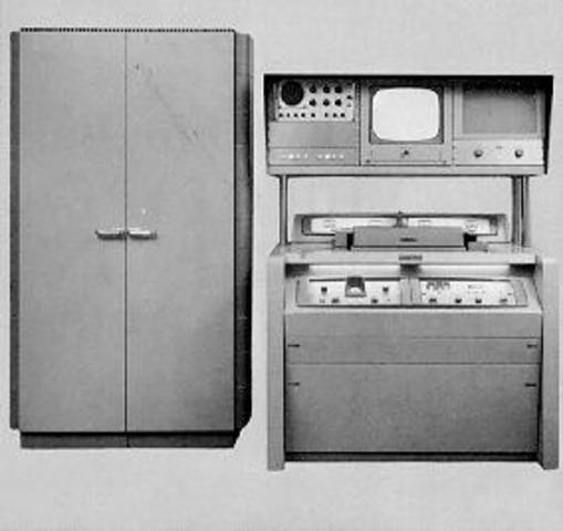 La casa norteamericana Ampex diseña el primer magnetoscopio, el cuadruplex.
