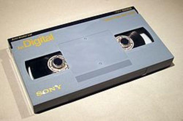 Sony desarrolla el sistema de grabación betacam