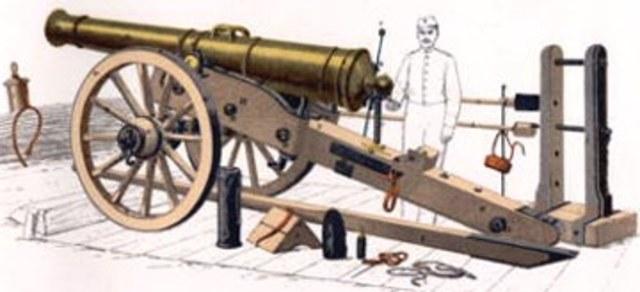 Creación de Artillería Sin Acero.