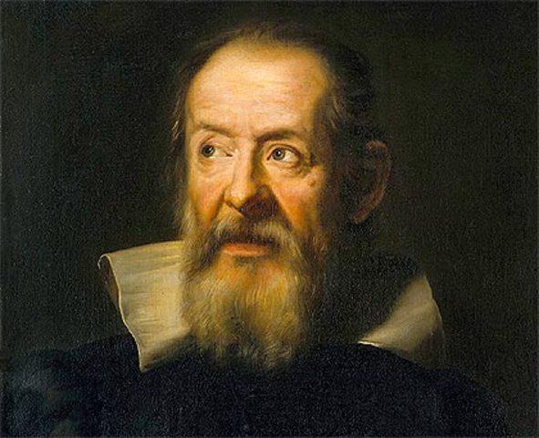 Nacimiento Galileo Galilei.