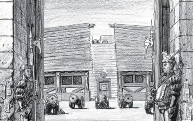 Primera Escuela de Artillería.