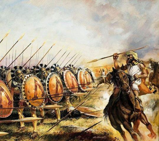 Spartan Troops Arrive in Acanthus