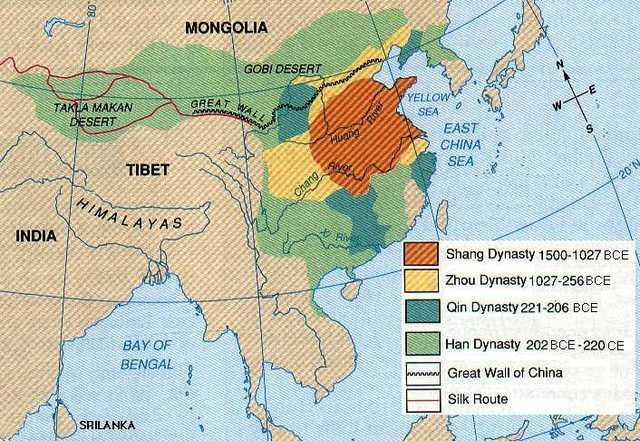 Ancient China 3950 B.C