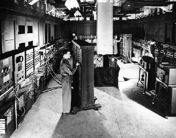 ENIAC (Electronical Numerical Integral and Calculator).