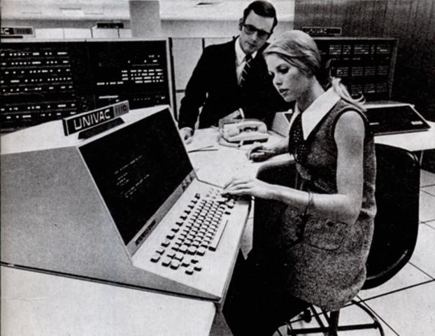 Univac 1100. 1970