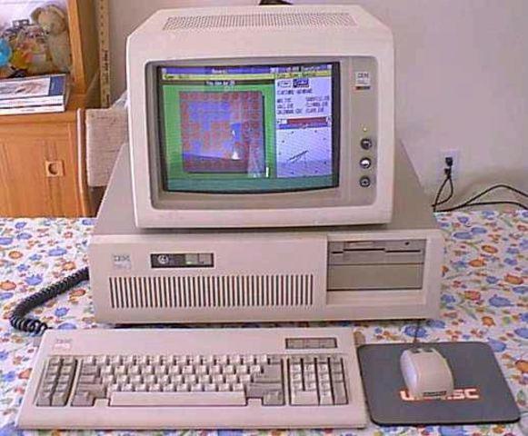 PC-AT de la compañía IBM