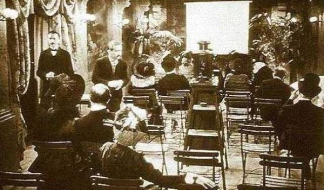 Llegada del Cine a México y trabajo de ferrocarriles