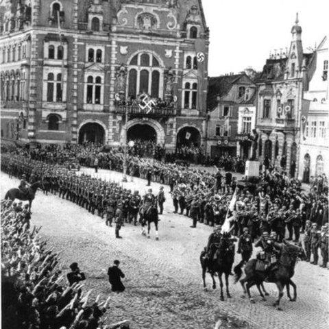 German invasion of the rhineland