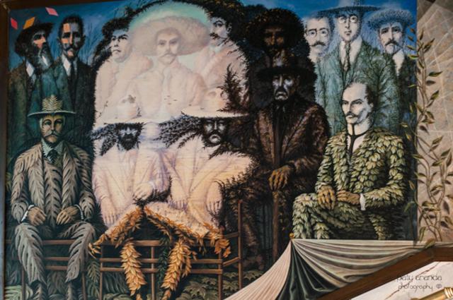 Zapata, Villa y Madero
