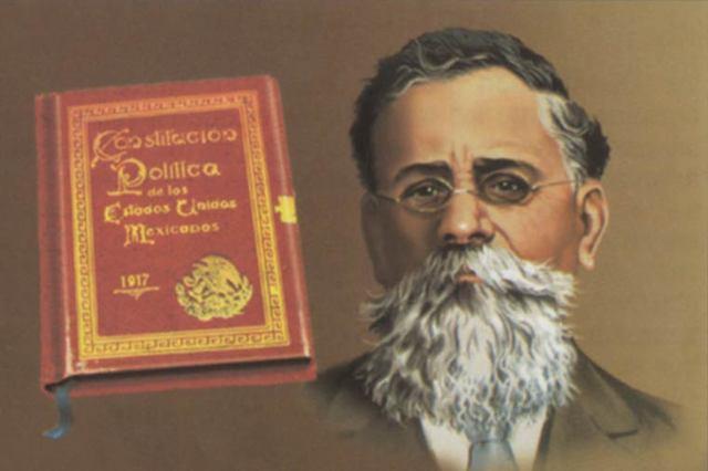 Carranza al poder y Constitución de 1917