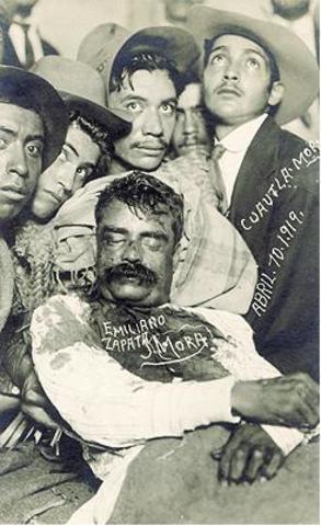 Muere Zapata y Obregón se portula a la presidencia