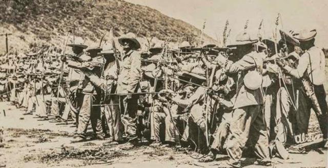 Campañas contra los indios Yaqui y Maya.