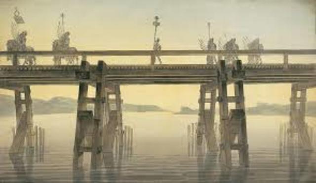 Puente en madera de Julio Cesar