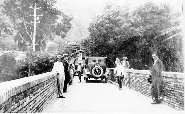 Primeras vías en Colombia