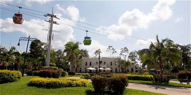 El parque que se convirtió en símbolo de la cultura cafetera