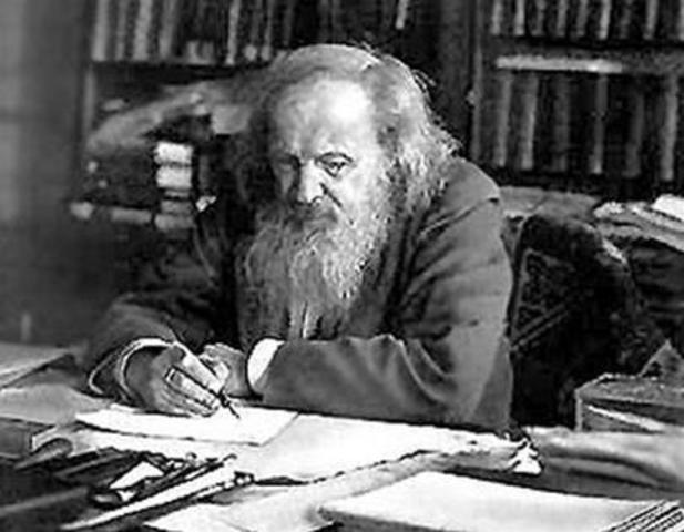 Mendeleev invents the Periodic Table