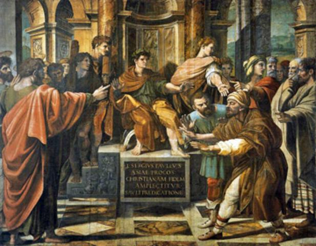 A 1º visita de Paulo a Jerusalém