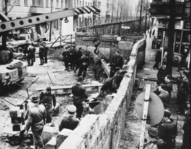 The Berlin Wall Falls