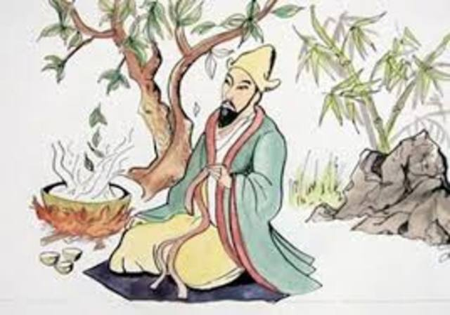 Emperor Shen Nung Rules China