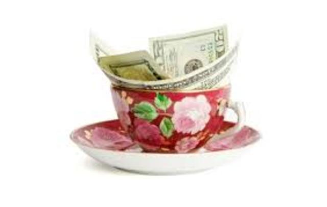 Tea Creates Paper Money