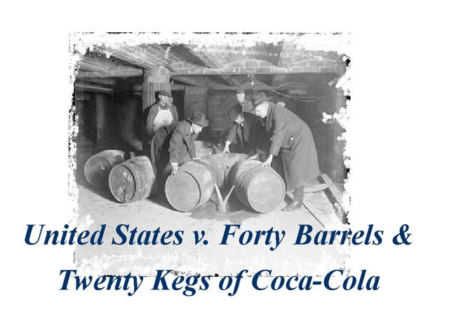 Coca-Cola put on Trial