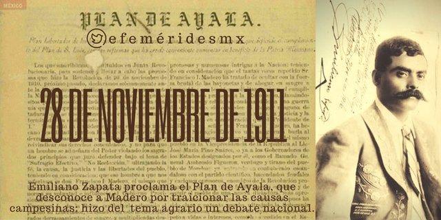 Plan de Ayala contra Madero