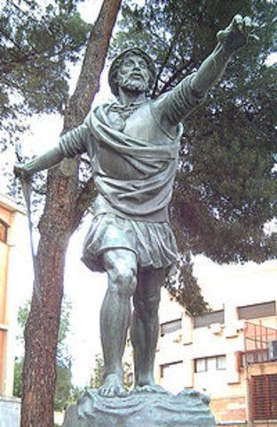 Diego de Enciso y Vasco Nuñes de Balboa