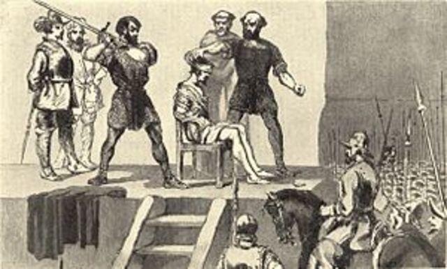 Vasco Nuñes de Balboa es ejecutado