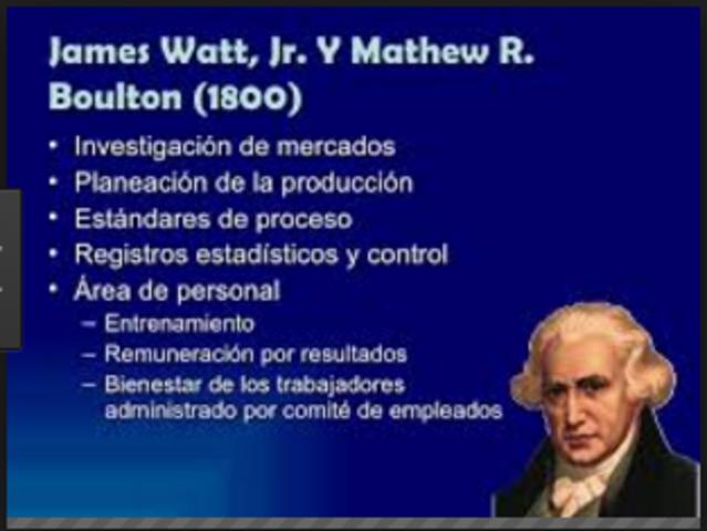 James Watt Mathew Boulton