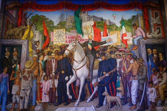 Francisco I. Madero entra triunfal a la Cuidad de México el 7 de junio