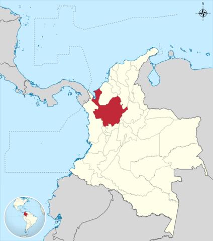Descubrimiento del territorio de Antioquia por Francisco César.