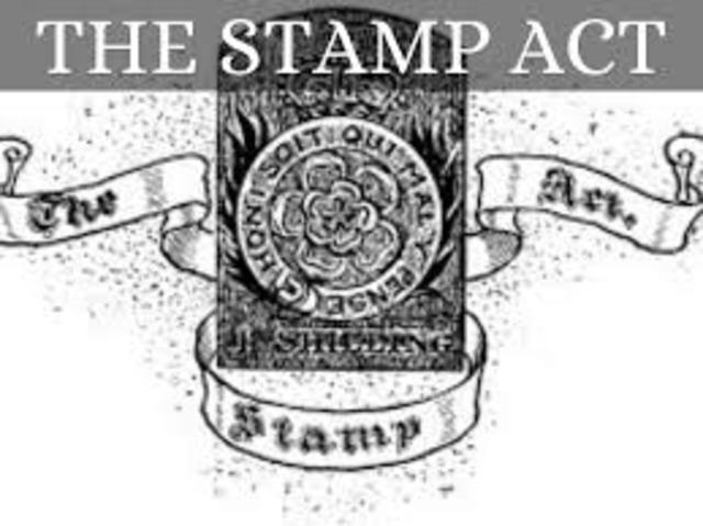 Stamp Act, 1765