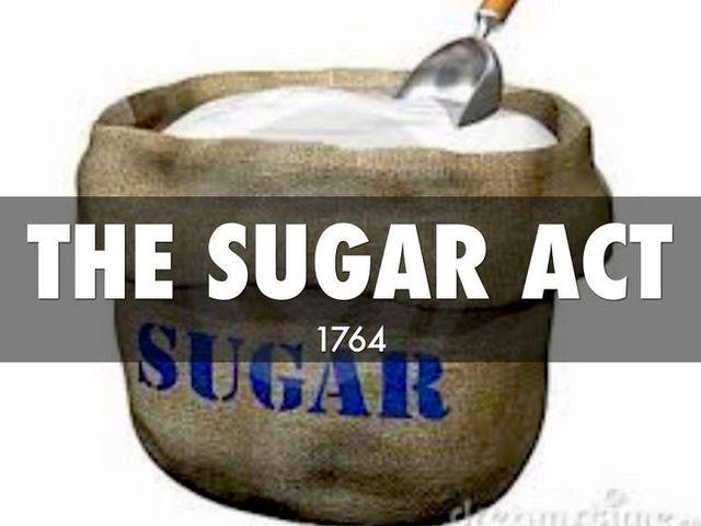 Sugar Act, 1764