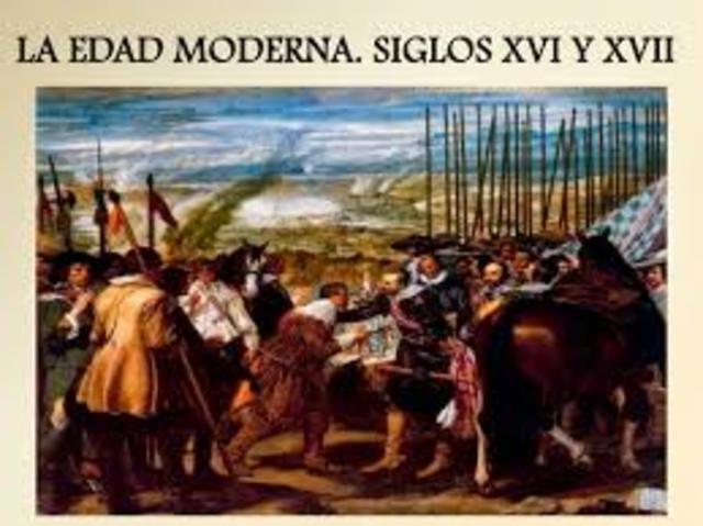 EDAD MODERNA (Años 1491-1789)