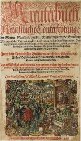2da. Edición de Kreuterbuch.