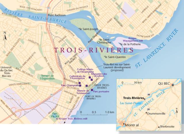 Founding of Trois-Rivières