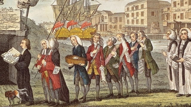 Stamp Act Protests, 1765~1766