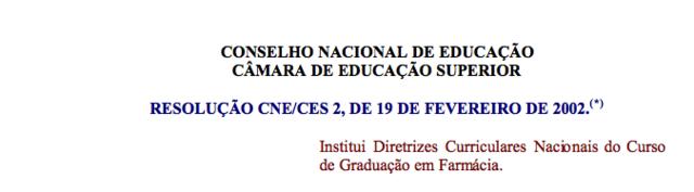 Resolução CNE/CES nº 02/2002, 19/02/2002