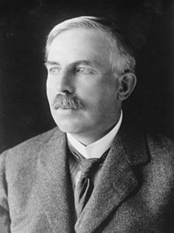 Ernest Rutherford (1871-1937) Premio Nobel de Química (1908)