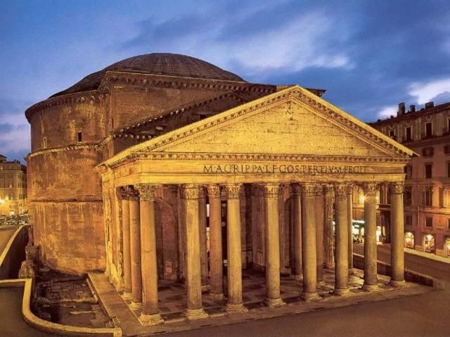 Edificación del primer Panteón de Agripa