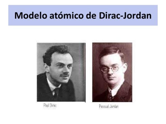 Paul Dirac (1902-1984) físico inglés y Pascual Jordan (1902-1980) físico alemán