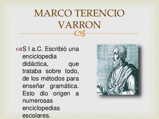 """Marco Terencio Varrón. """"De re rustica"""""""