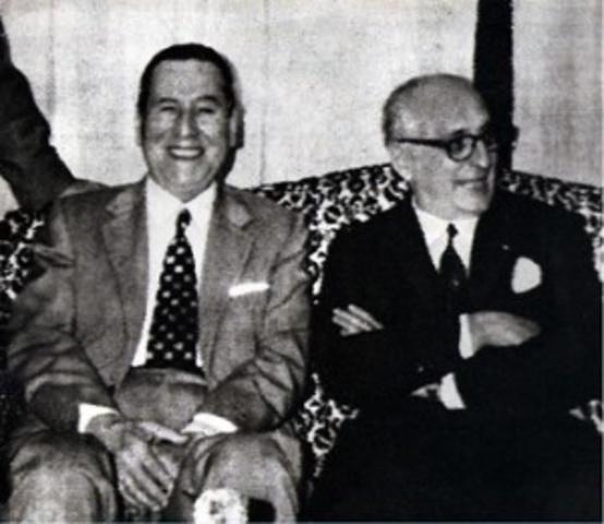Relacion entre Perón y Frondizi