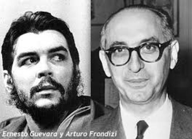 """Frondizi y el """"Che"""" Guevara"""