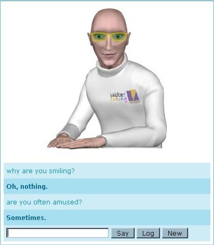 Jabberwacky: chat-bot de interacción humana