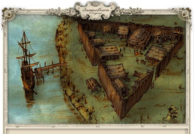 Jamestown, Virginia is Established